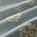 Living Room Bedroom Cotton Rope Embroidery Curtain