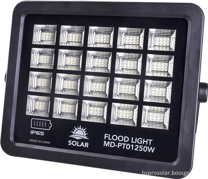 Solar Powered Motion Sensor Light for parking lot