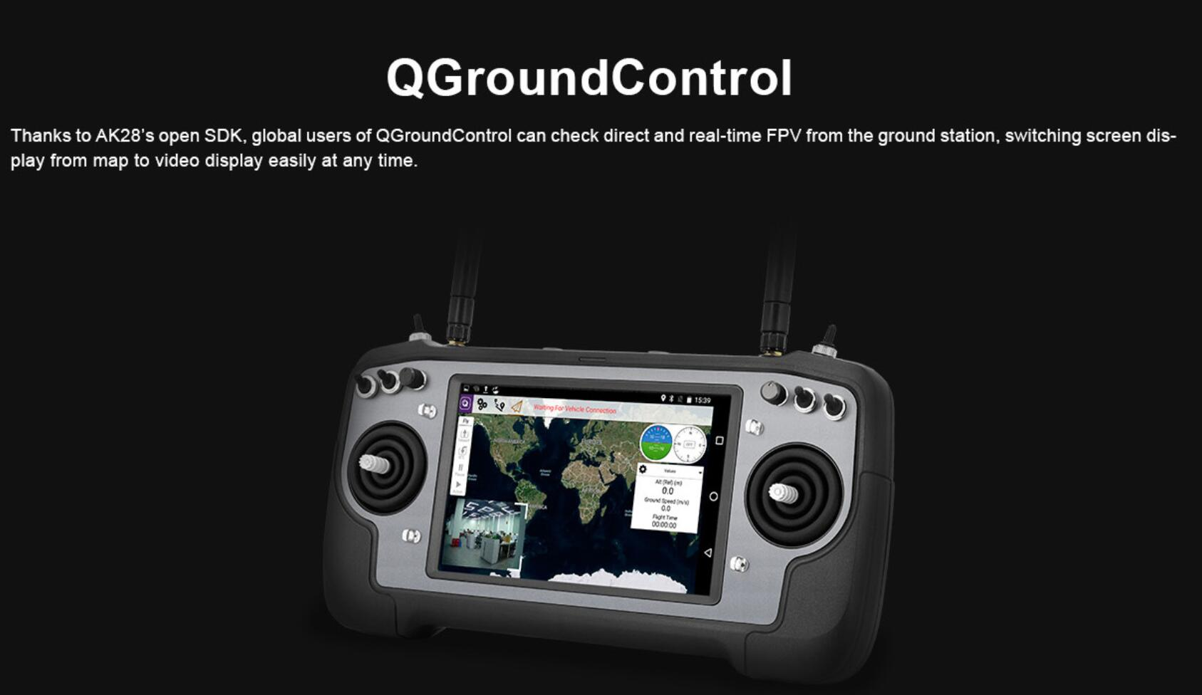 AK28 Ground Control Station For Drone UAV