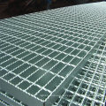 High Security Galvanized Serrated Steel Grating Stair Grating Tread Welding Plate
