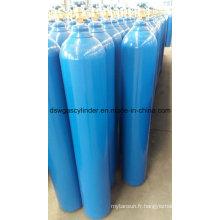 99,9% de gaz Co / N2o / H2 rempli de gaz de cylindre 8L avec soupape