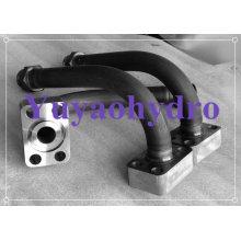 Fabricação de montagem de mangueira de tubos hidráulicos para máquinas de construção