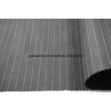 Streak tecido de lã para o terno