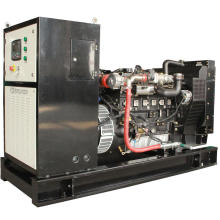 High electric efficiency 60KVA / 50KW biogas generator set running continuously for 24 hours