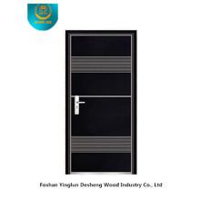 Porte de sécurité blindée Fasion (couleur noire)