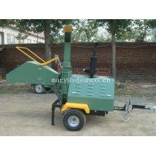 Déchiqueteuse hydraulique de bois avec le moteur diesel de 40hp