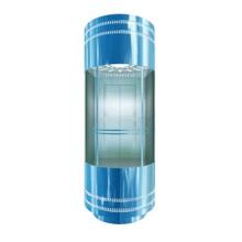 Ascenseur panoramique passager VVVF sûr et confortable