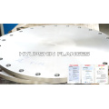 EN1092-1 Brida TYPE01 SLIP ON Plate RF S235JR