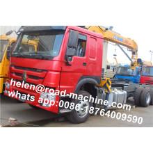 HOWO Truck Chassis 2 Ton Crane Truck