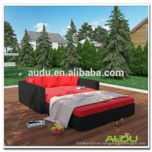 Ratán sofá cama mobiliario de jardín muebles de jardín