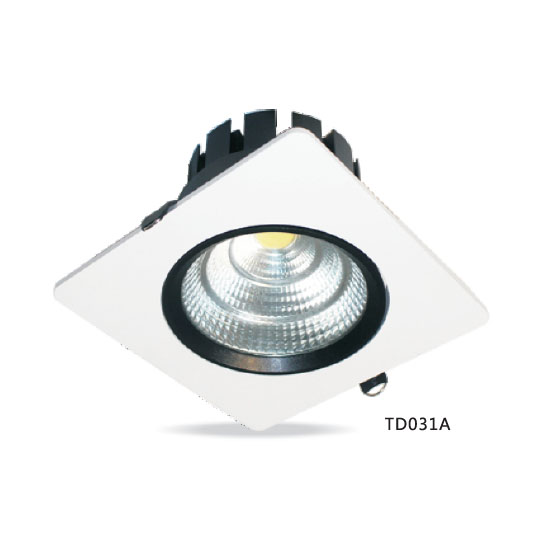 Square COB 9W LED Downlight