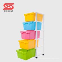 Shunxing Kunststoff PP Baby Kleidung Schublade mit Rad