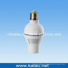 Suporte de lâmpada do sensor de movimento E27 (KA-SLH02)