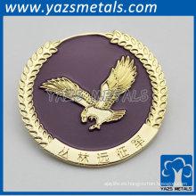 emblema oro diseñado