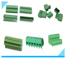5.08mm Pitch PCB Mount Green Screw Terminal Block Pluggable