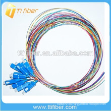 SC / UPC fibra óptica Pigtail 0.9mm