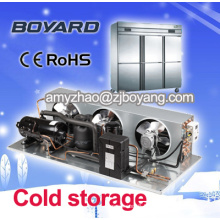 Air cooled cold room condensing unit for small colde room