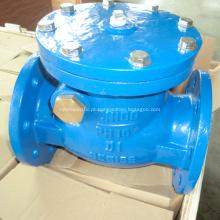 BS5153 Válvula de retenção de balanço de sede de metal