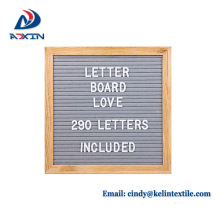 Cheap price 10x10 inches 12x12 inches felt letter board in stock Cheap price 10x10 inches 12x12 inches felt letter board in stock