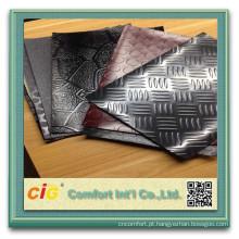 Pvc PVC revestimento rolo carro estofos plástico aço moeda Design revestimento não tecido