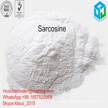 99% Pureté Sport Nutrition Poudre Sarcosine pour Muscle Fitness Suppléments