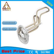 Elemento de aquecimento em aço inoxidável para aquecedor de água