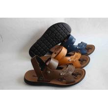 Chaussures de plage New Design Men avec semelle PU (SNB-14-021)