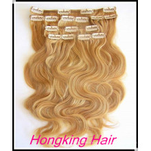Remy Hair clip in hair extensions curly clip in hair