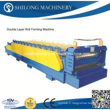 Machine de formage de panneaux de panneaux en tôle ondulée automatisée en Chine