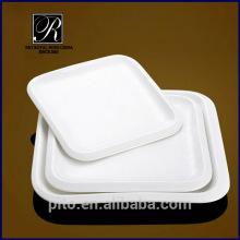 Plaque carrée en porcelaine PT-1421