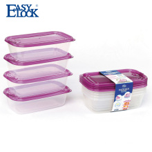 wholesale shantou factory airtight plastic food packaging lunch box