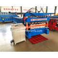 atap warna double deck roll membentuk mesin