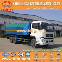 DONGFENG 6X4 18tons 210hp de elevación hidráulica camión de basura Impulsión a mano izquierda mejor precio para la venta en China.