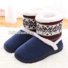 Оптовая цена завод мужской обуви тапочки толщиной единственный теплый зимний тапочки