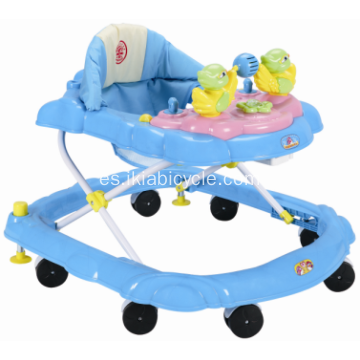 Fancy Car Shaped Baby Walker con luz