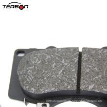 Niedriger Metallmaterial-Bremsbelag für japanisches Auto Toyota