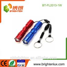 China-heißer Verkaufs-Mini CE Matal 1W Ultraviolet Schmucksache-Detektor Blacklight Keychain Kundenspezifische kleine 365nm uv führte Fackel für Jade