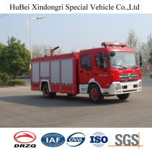 8ton Dongfeng Tipo de tanque de água Fire Fighting Engine Truck Euro 4