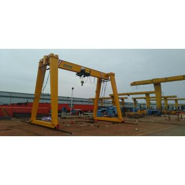 15t hoist euro-type single girder gantry crane