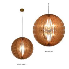 Decorative Wood Pendant Light (MD20031-400)