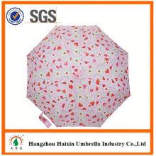 Parapluie automatique de dernière usine gros Parasol Print Logo