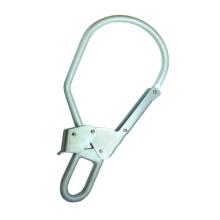 SH1090 CE большой двойной застежкой-действие одной рукой привязать оцинкованной стальной крюк