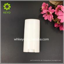 Weißer weißer leerer kosmetischer Deodorantstockbehälter der hohen Qualität des Verkaufs 70g