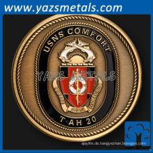 anpassen USNS Komfort Marine Schiff Herausforderung Münze