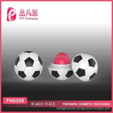 2017 ball shape empty lip balm container
