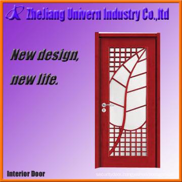 Wood and Glass Door Entrance Door