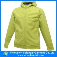 China Factory High Quality Women Softshell Jackets with Zipper