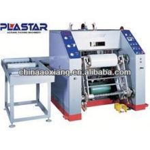 Rembobineuse de film plastique entièrement automatique et ligne de machine à papier humide