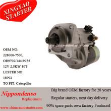 Дизельный двигатель Caterpiller Подержанный Стартер 0r9702, Leser18992