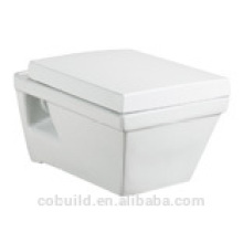 CB8111 AAA quality standard square wall mounting western toilet